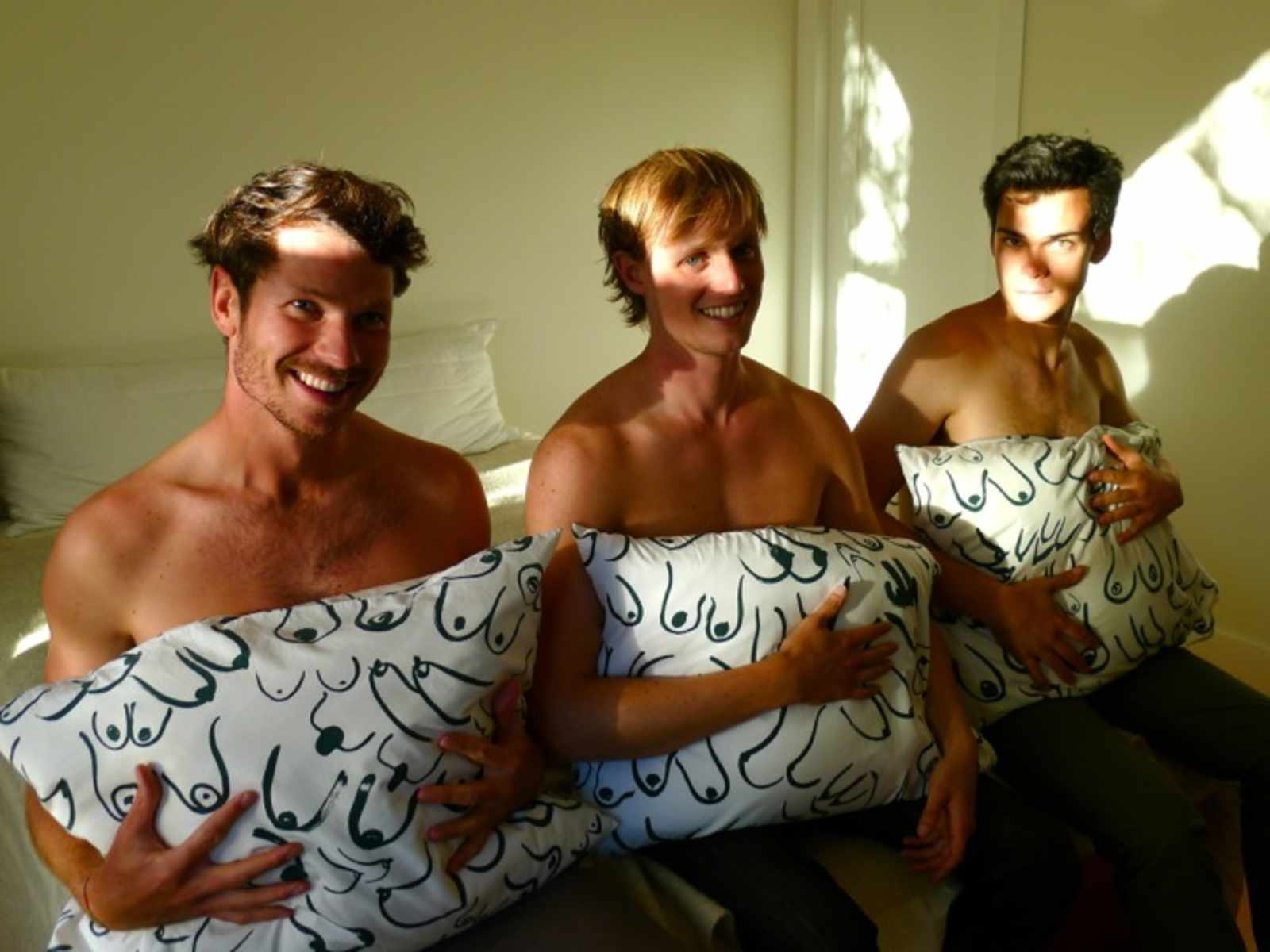 uptown almanac's borderline ironic gift guide 2012: boobs pillowcase