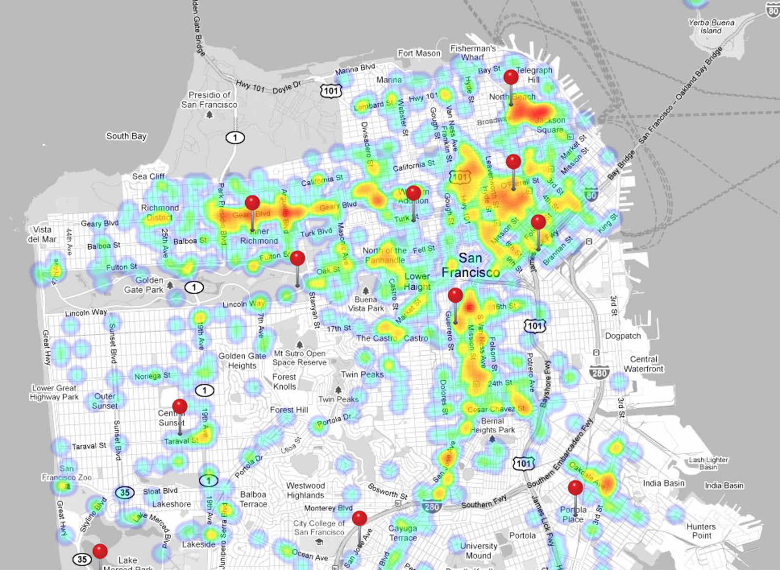 maps Uptown Almanac