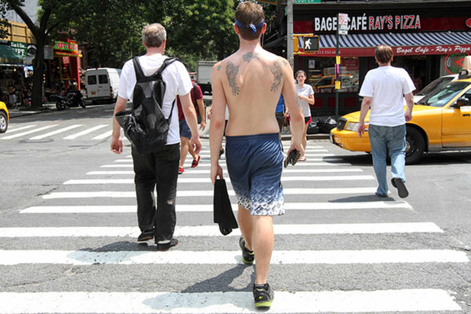 Super Gross Dudes Going Shirtless In Public Is Now -7476