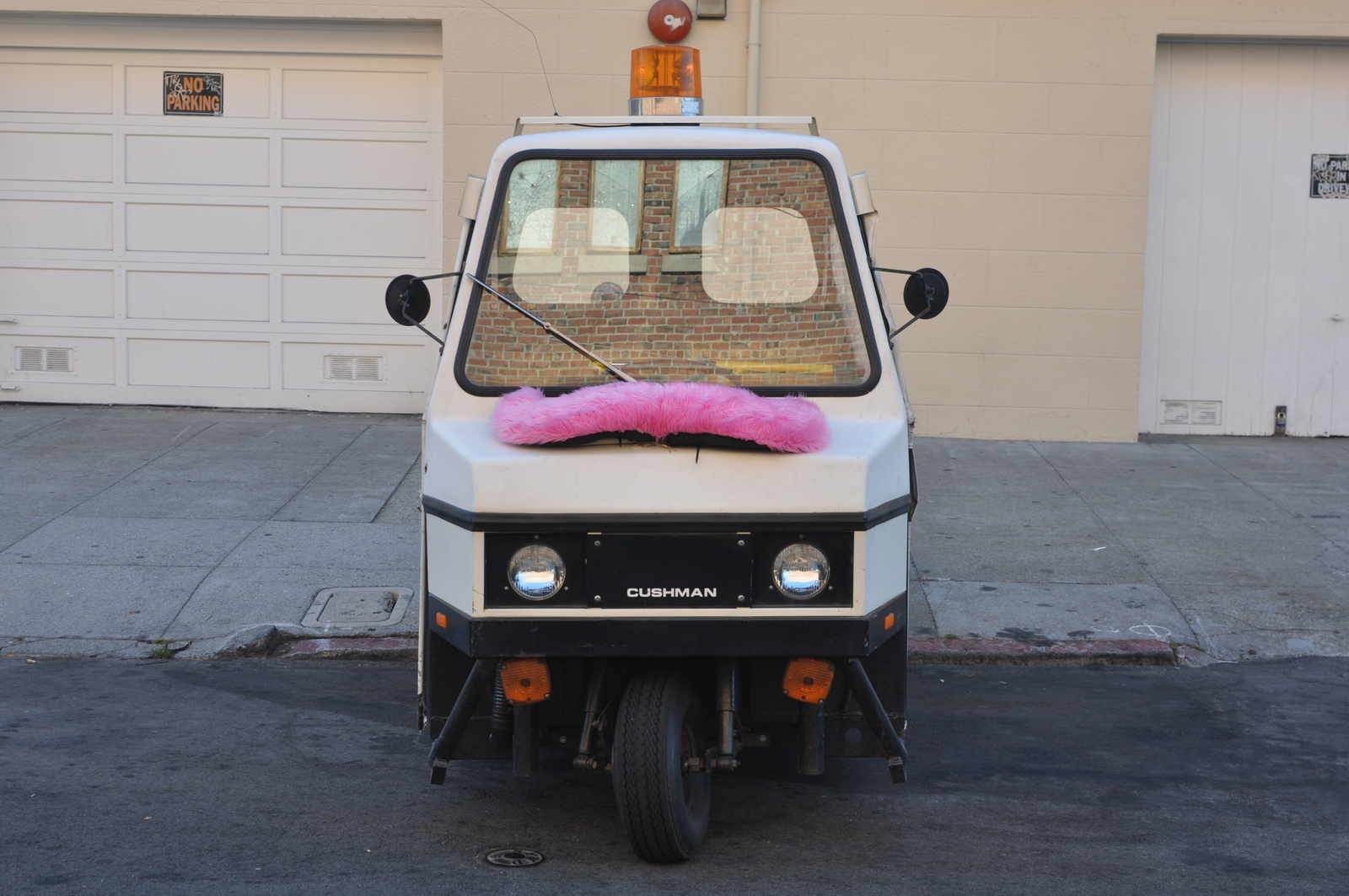 I Ve Been Seeing Cars Driving Around The City With Those Weird Pink Fuzzy Mustaches On Their Grills For Some Months Now Figured It Was Just A Cancer
