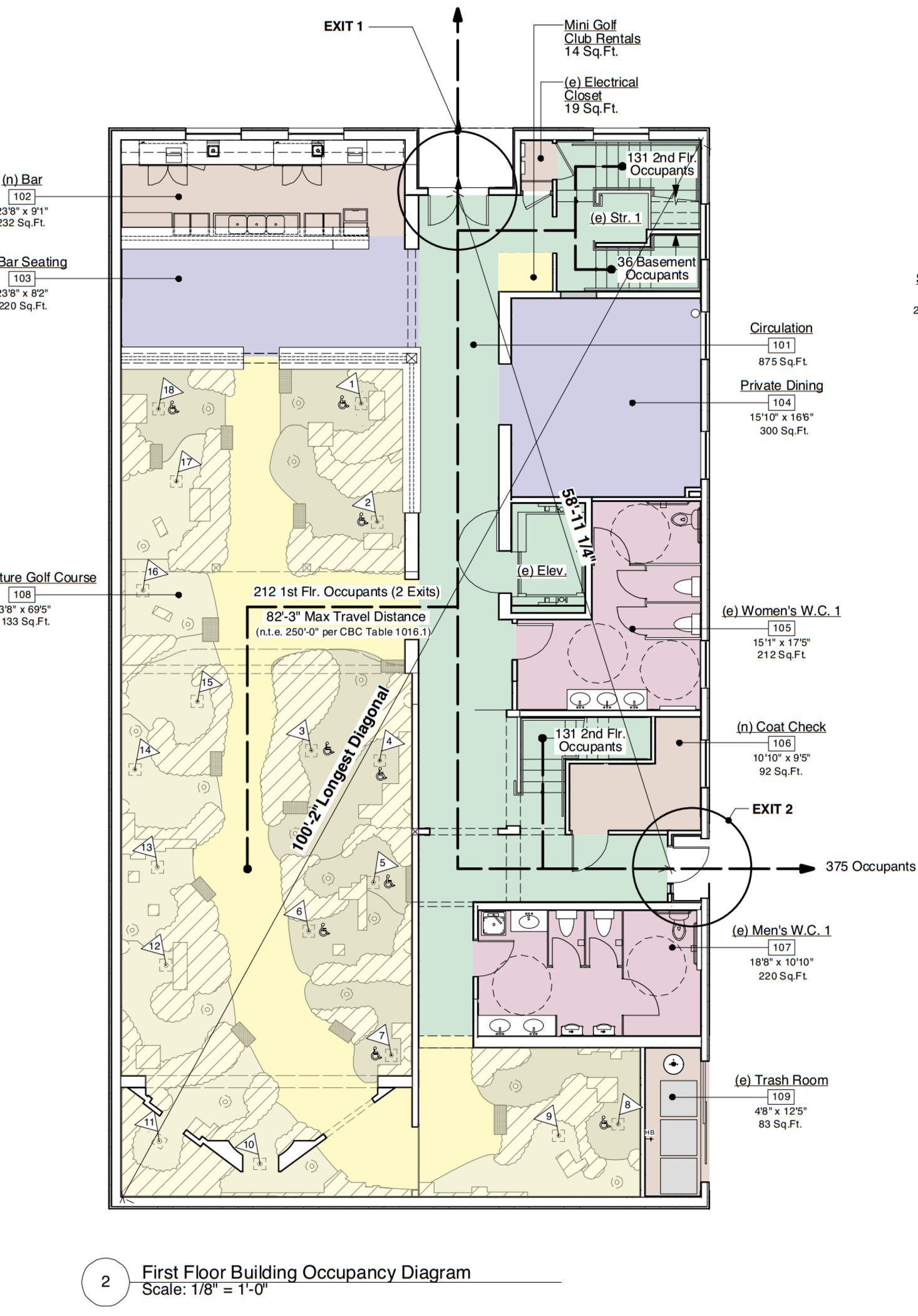 Golf Course Floor Plans