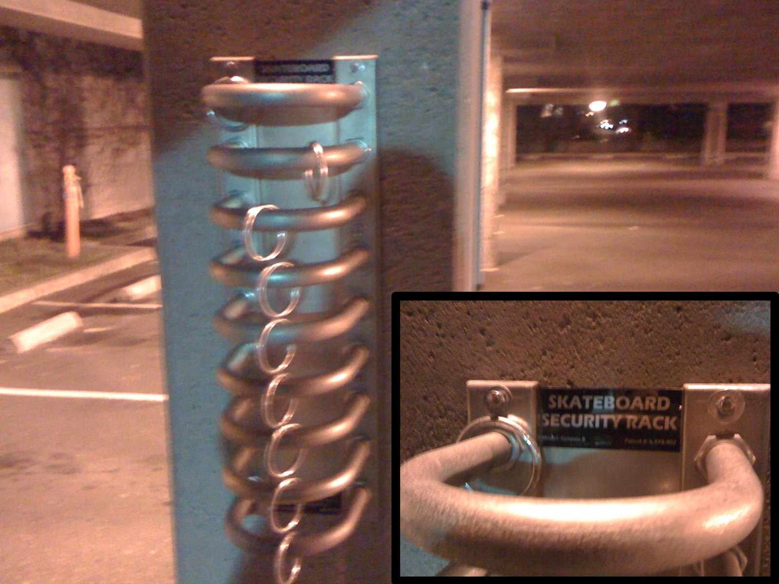 sf gets skateboard security racks uptown almanac